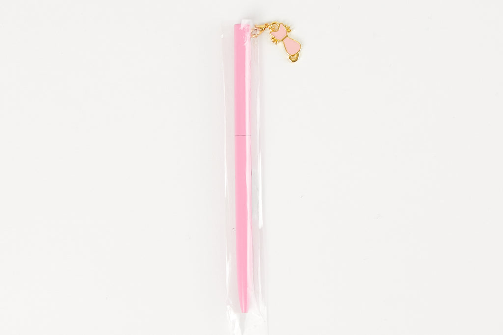 [DMV ONLY] Pink cat pendant ball point pen 15007305