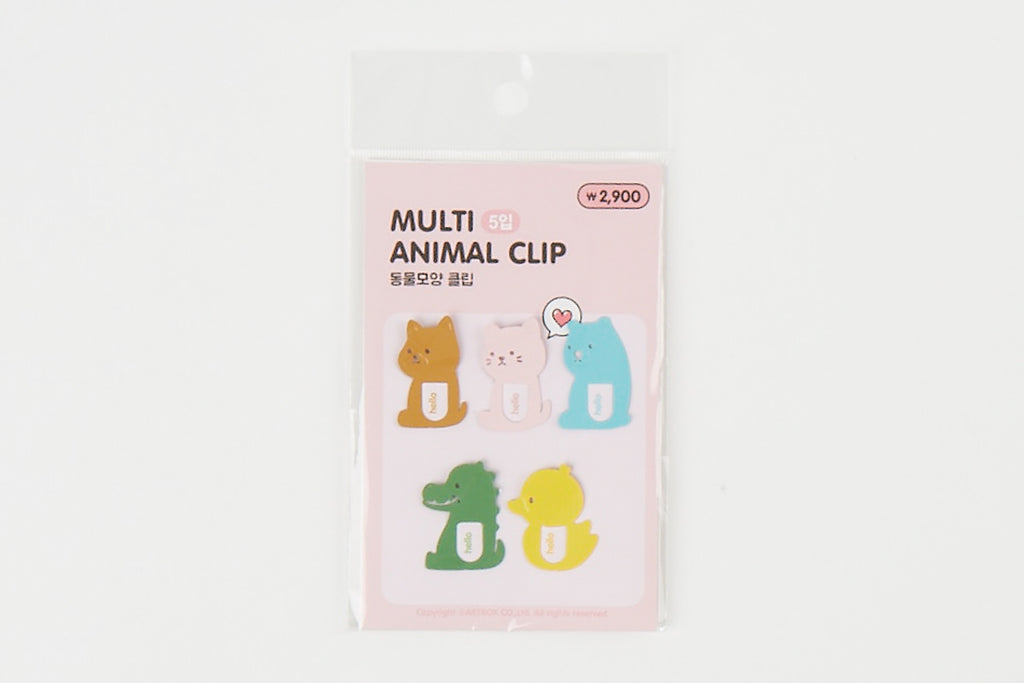 [DMV ONLY] Multi Animal Shape Bookmark 16009197