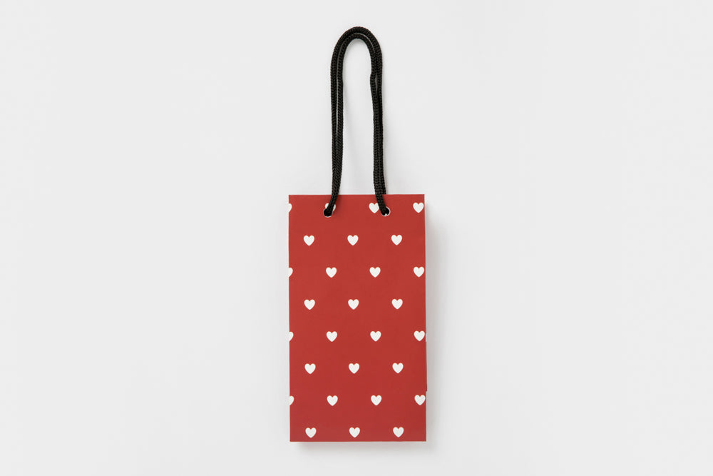 [DMV ONLY] Artbox Small Tall Shopping Bag - Red Heart 07004683