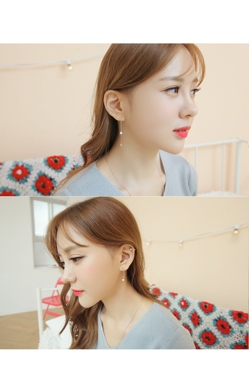 Soo & Soo Moon & Star Earrings