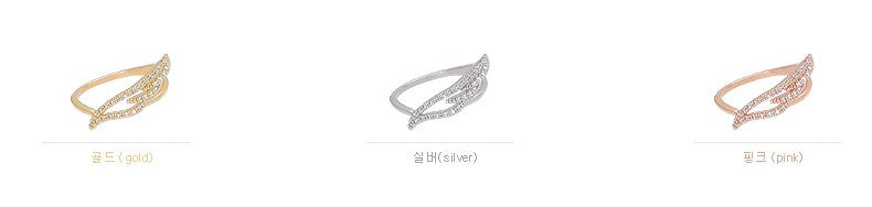 Soo & Soo Angel Wing Ring