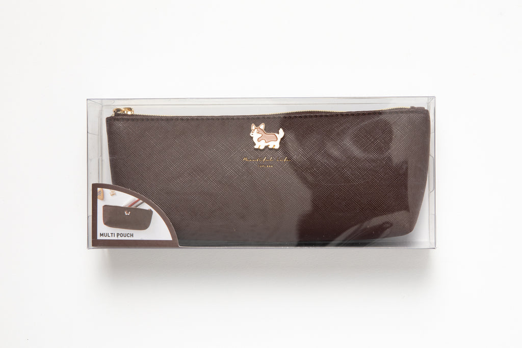 [DMV Only] Brown Corgi Pencil Case 17003923