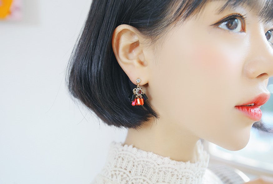 SOO & SOO Monography Clip-On Earrings