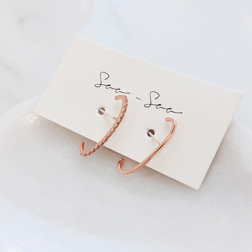 Soo & Soo Thin Cuff Earrings