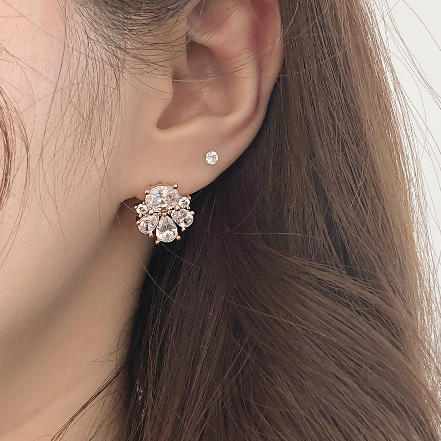 Soo & Soo Dazzling Crystals Earrings