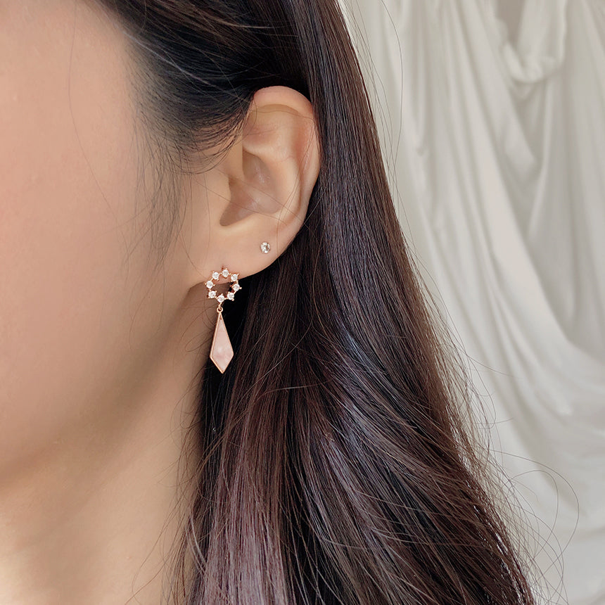 Soo & Soo Metal Sculpture Earrings