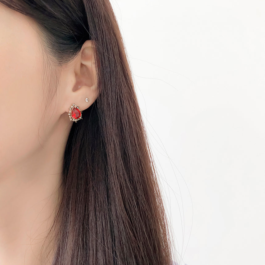 Soo & Soo Isabelle Crystal Earrings