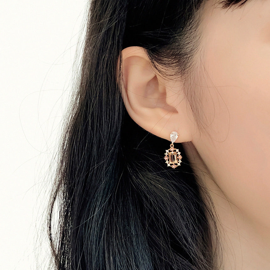 Soo & Soo Sparkle Allure Earrings