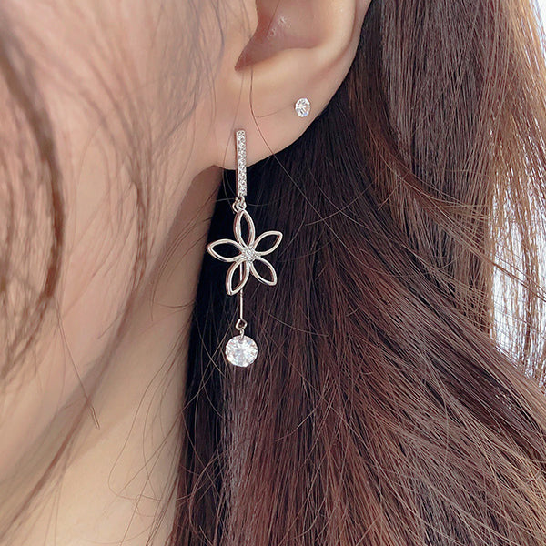 Soo & Soo Romantic Flower Earrings