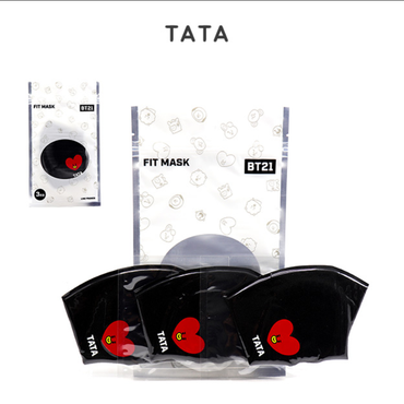 BT21 Tata Fit Mask (3ea)