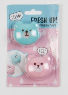 [DMV ONLY] Artbox Animal Toothbrush Cap Bear (2pc) 25013617