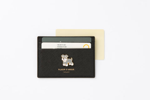 [DMV Only] Schnauzer Emblem Card Wallet 28002589