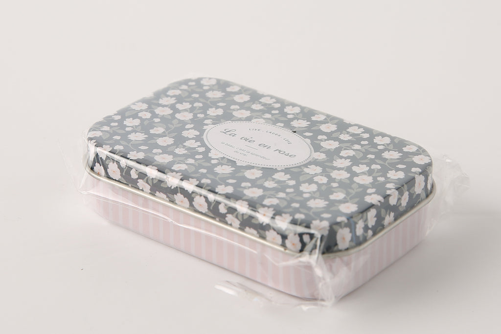 [DMV ONLY] Mini Flower Tin Multipurpose Case  26014927