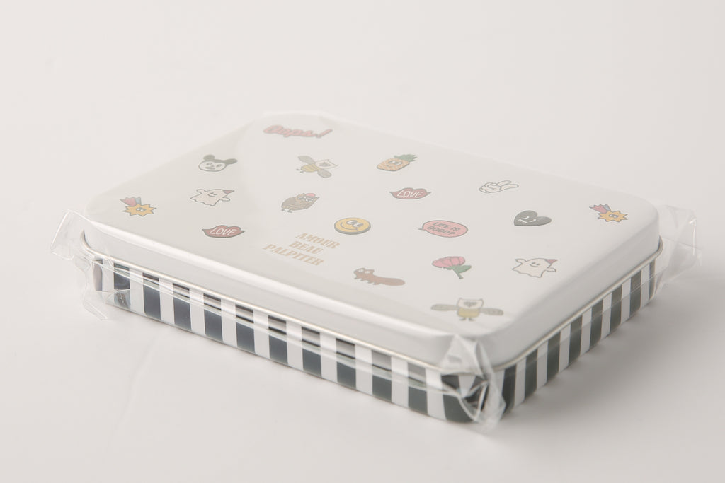[DMV ONLY] MD Fun pattern Tin Multipurpose Case  26014939