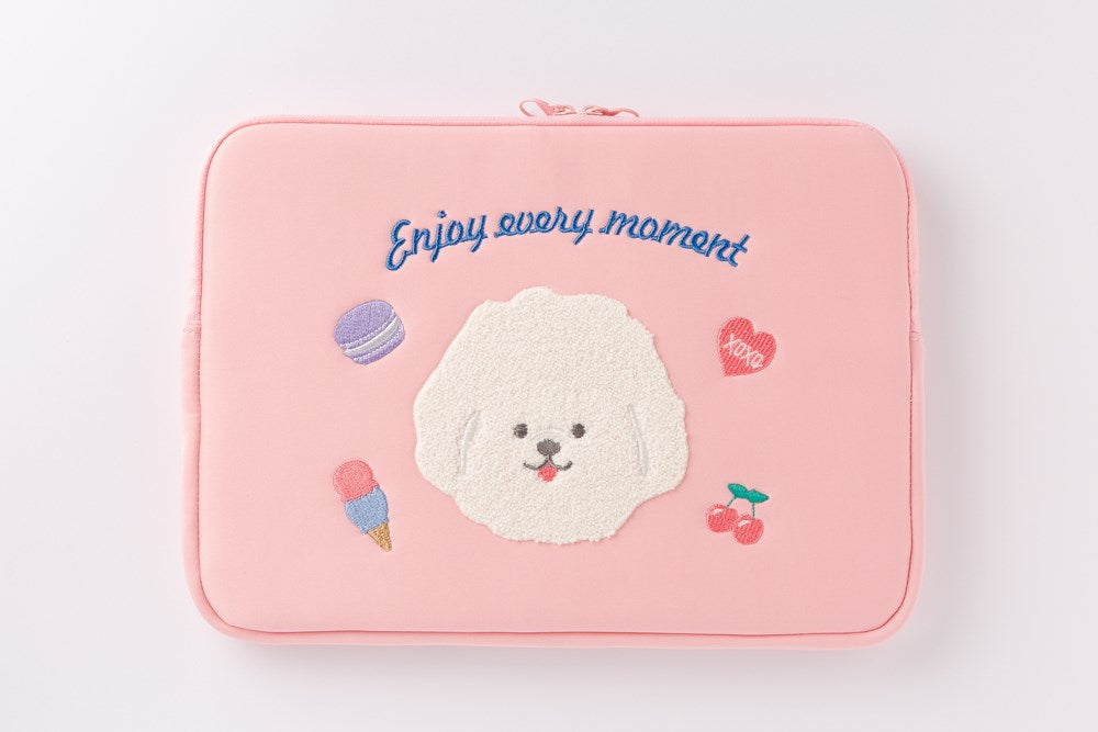 [DMV ONLY] Babishon Pink Soft Laptop Pouch 37002786