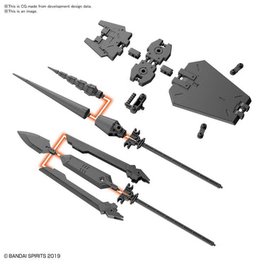 Bandai 30 Minutes Missions W-09 Option Parts Set 3
