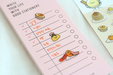 Gudetama Transparent Sticker - Pick Me