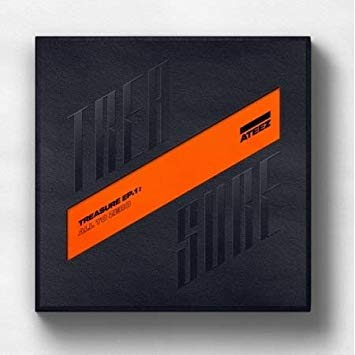 Kpop CD Ateez 'Treasure Ep.1: All To Zero'