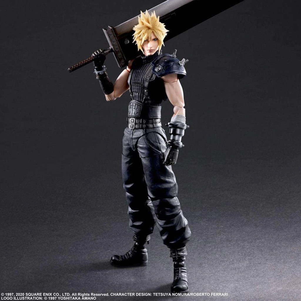 Final Fantasy VII Remake Play Arts - Kai Cloud Strife Ver. 2