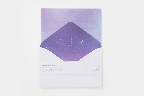 [DMV Only] Moonlight Gradation Letter Paper Set 02005165