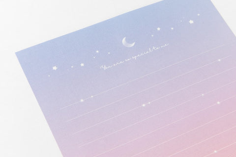 [DMV Only] Moon Light Gradation Letter Paper Set 02005169