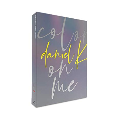 Kpop CD Daniel K 'Color on me'