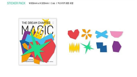 Kpop CD TXT 'The Dream Chapter: Magic'