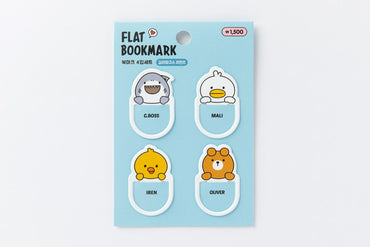 [DMV only] Galapagos Friends Design Flat Bookmark 16008962
