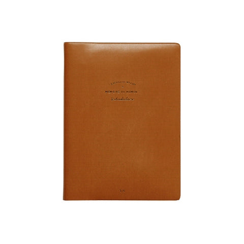 [DMV ONLY] Brown Leatherette Cover Planner 04009938