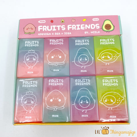 Millk Fruits Friends Eraser