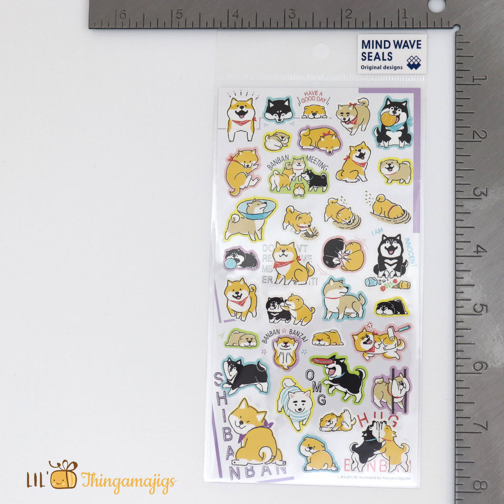 Mind Wave #79274 -Shibanban- Sticker