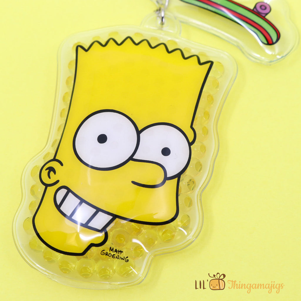 The Simpsons Gel Beads Keychain