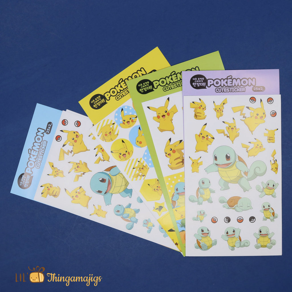 Pokemon Stickers