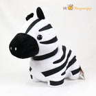 "Amuse Pocket Safari Park Plush 17"" (Zebra)"