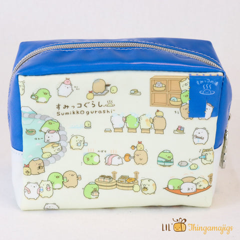 Sumikko gurashi™ Pencil Pouch Hot Springs 6.1""
