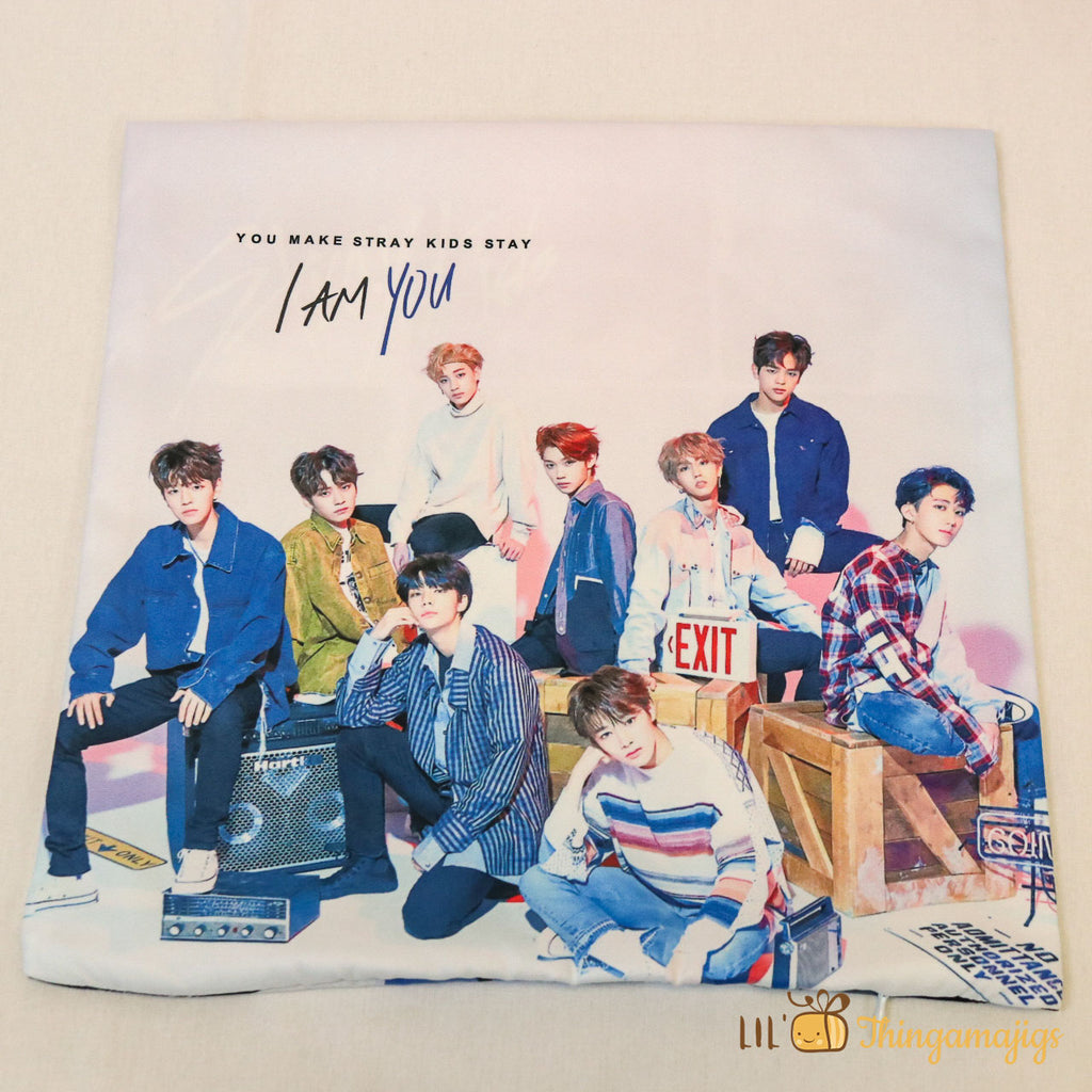 "Kpop Stray Kids Throw Pillow(13"" x 13"")"