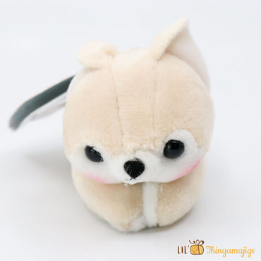 "Amuse Mameshiba Brothers Plush Clamp(4"" x 3"")"