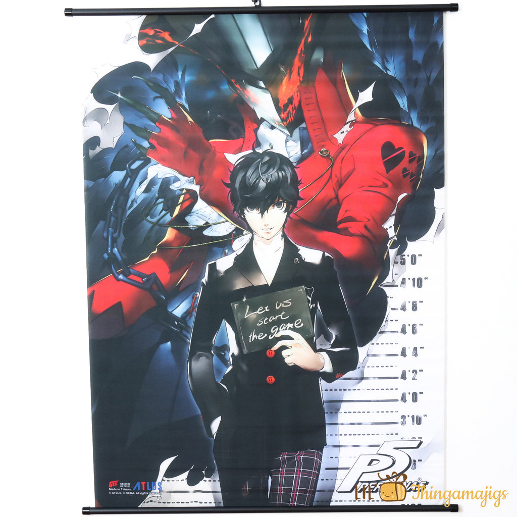 "Persona 5 33"" X 44"" Scroll Poster"
