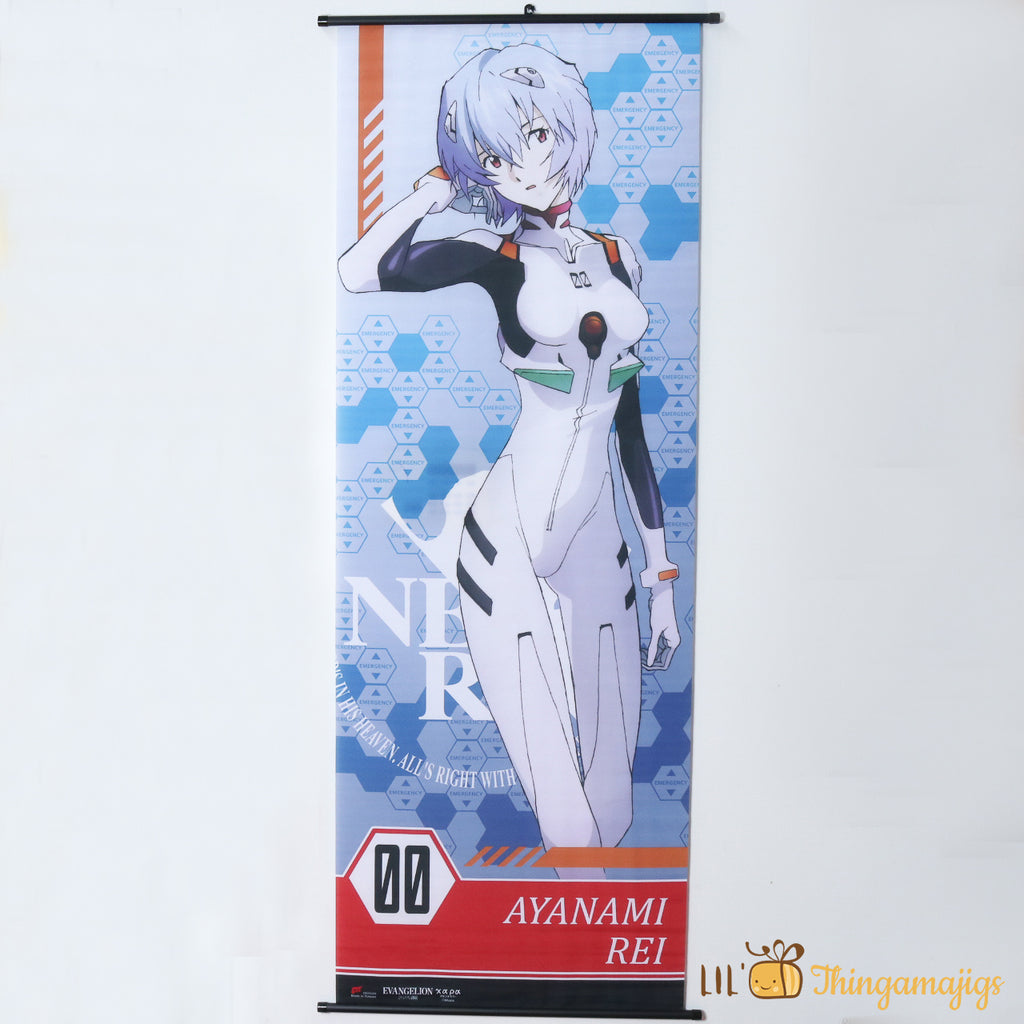 "Evangelion - Rei 2' X 5'6"" Scroll Poster"