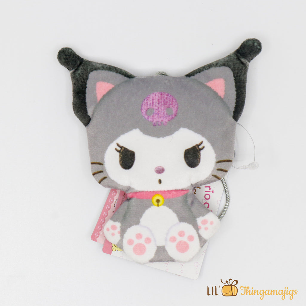 "Sanrio Kuromi Kitty Costum Coin Pouch 4.5"" (Sanrio Japan Original)"