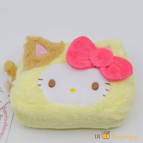 Sanrio Hello Kitty Kitty Costum Multi Pouch 5.5""