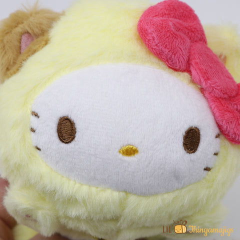 "Sanrio Hello Kitty Kitty Costum Plush 6"" (Sanrio Japan Original)"