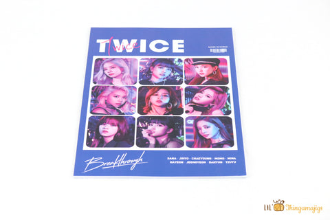 "Kpop Twice 10pcs Poster Set (8.5""x11.5"")"