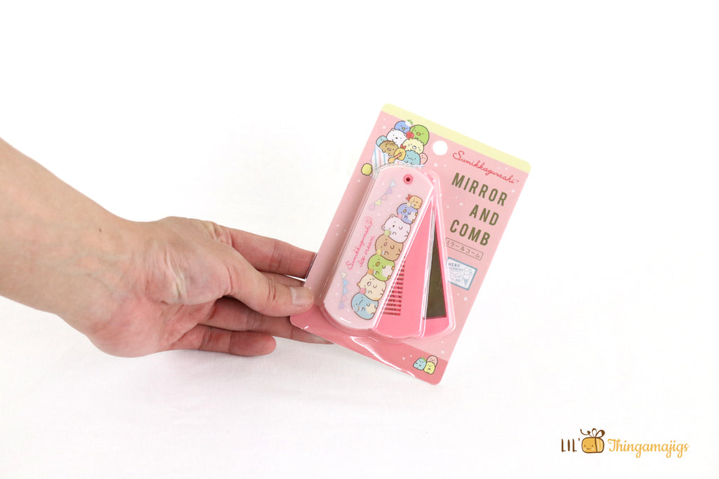 San-x Sumikko Gurashi Mirror And Comb
