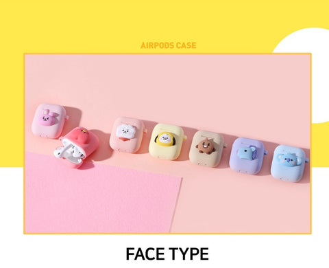 BT21 Royche Baby Shooky Silicone Airpod Case