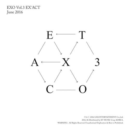 K-pop CD EXO 'Ex'act'