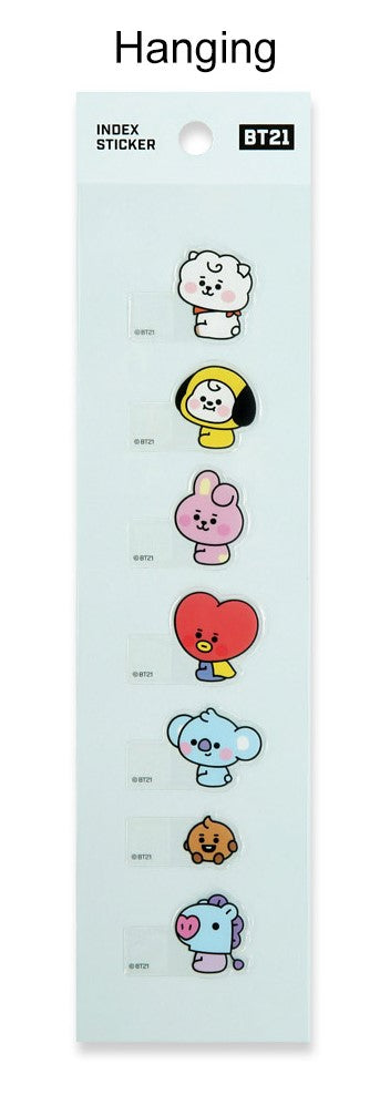 BT21 Index Sticker - [Hanging Ver.]