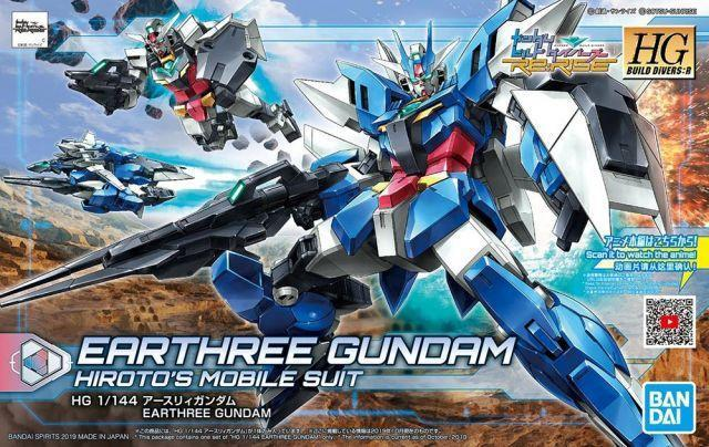 HG Build Divers:R Earthree Gundam
