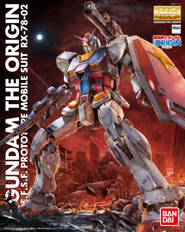 MG RX-78-02 Gundam The Origin 1/100