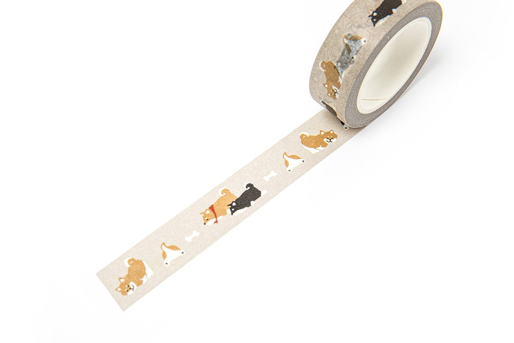 [DMV ONLY] Artbox Lazy Shiba 15mm Masking Tape 16008570